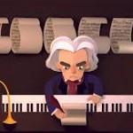 Googledan Muhteşem Beethoven Doodle 17.12.2015!