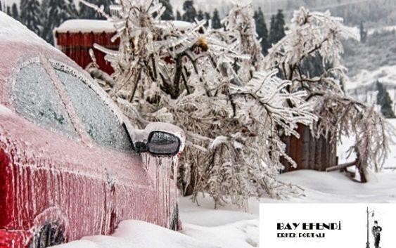 Karda araba kullanmak için ne yapılır