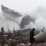 Türk Kargo Uçağı Kırgızistanda Düştü