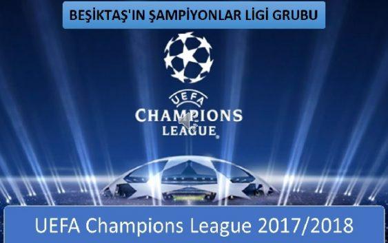 BEŞİKTAŞ'ın UEFA ŞAMPİYONLAR LİGİ RAKİPLERİ BELLİ OLDU,